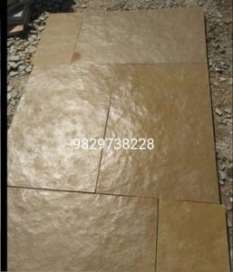 brown kota stone leather finished