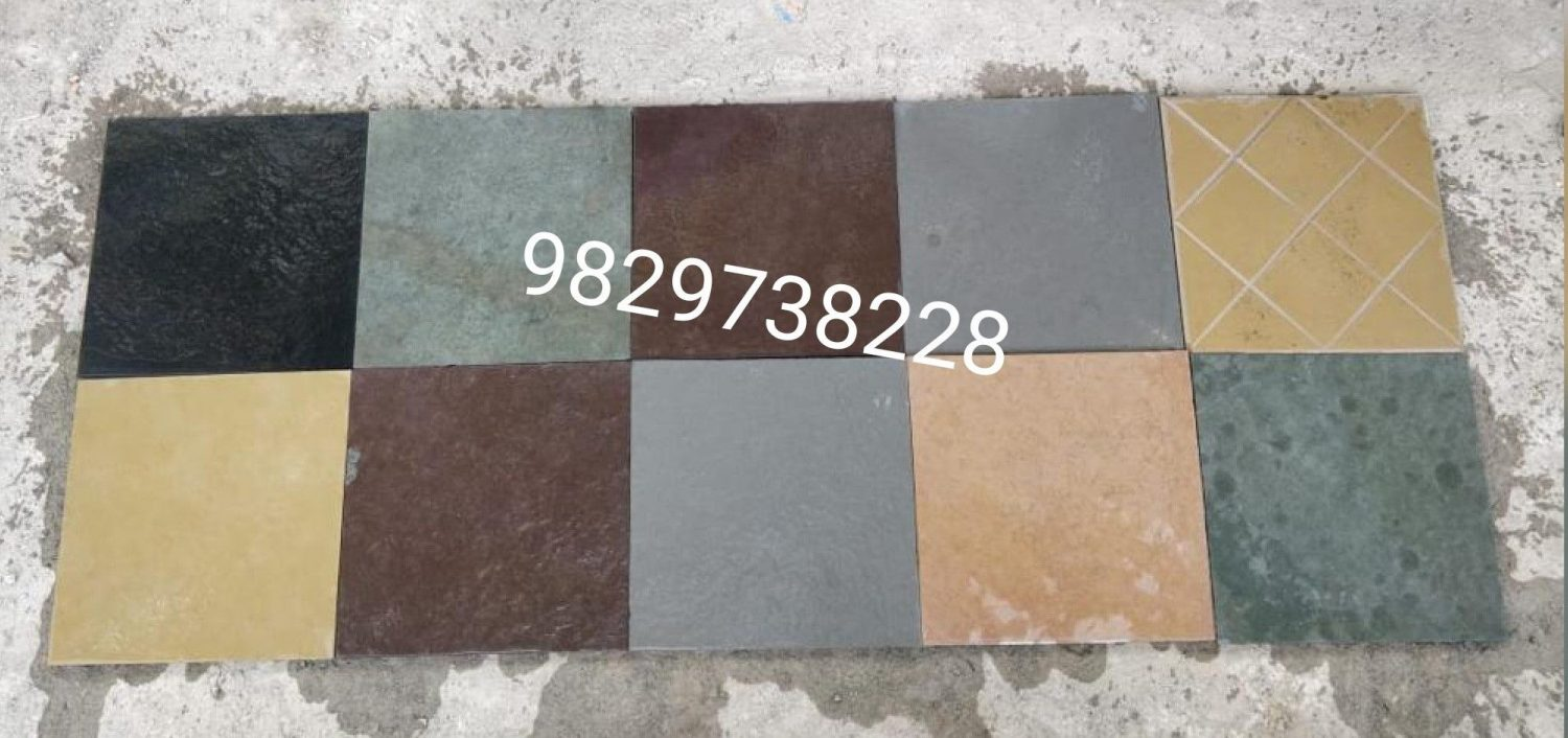 cotta stone flooring colour