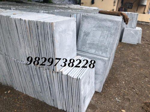 white kota stone