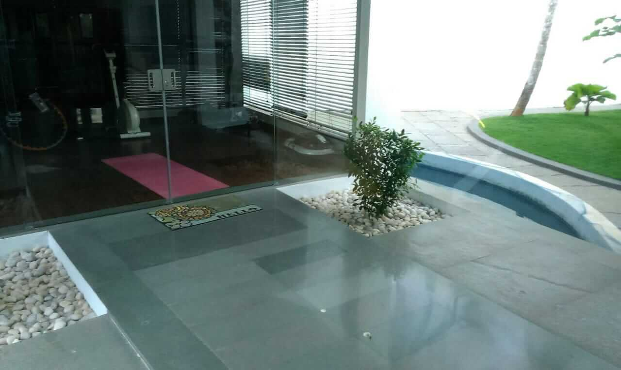 kota stone green flooring